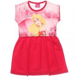 Vestido Disney Princesas Infantil Barra Estampa Bella 29927