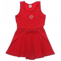 Vestido Have Fun Infantil Elástico Cintura e Laço 31736