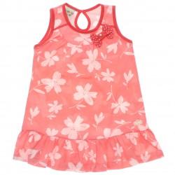 Vestido Have Fun Infantil Floral Babado Laço 30185