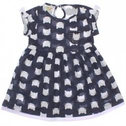 Vestido Have Fun Infantil Gatinho Tachas 30184