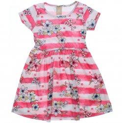 Vestido Infantil Colorittá Listras e Flores 31606