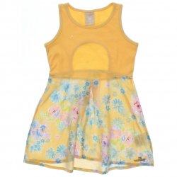 Vestido Infantil Colorittá Regata Barra Estampa Floral 31503