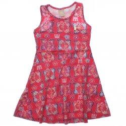 Vestido Infantil Colorittá Regata Borboletas Cotton 31614