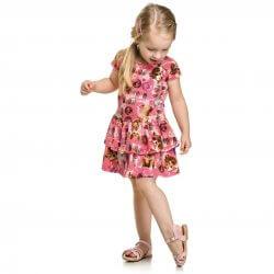 Vestido Infantil Elian Docinhos Babados 31645
