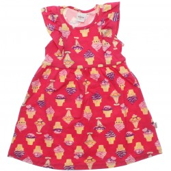 Vestido Infantil Elian Estampado Sorvetes 30579