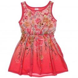 Vestido Infantil Elian Estampado Sublimada Flores 31538