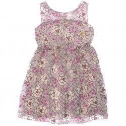 Vestido Infantil Elian Menina Estampa Flores 29448