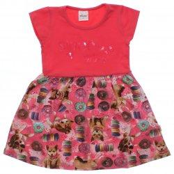 Vestido Infantil Elian Sweet Miss Lantejoula 31638