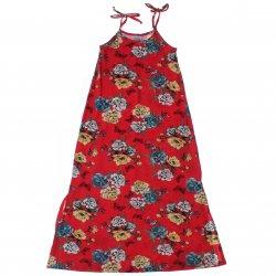 Vestido Infantil Rovitex de Alça Floral 31511