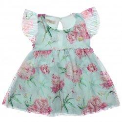 Vestido Infantil Time Kids Flamingos com Pingente 31824