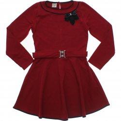 Vestido Inverno Have Fun Menina Molecotton Laço Fivela 31371