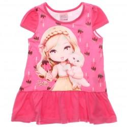 Vestido Jolie Infantil Sorvetes Gel Glitter 29995