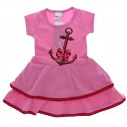 Vestido Kaiani Infantil Menina Estampado Ancora 28952