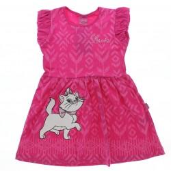 Vestido Marie Infantil Estampa Abstrata Strass 28635