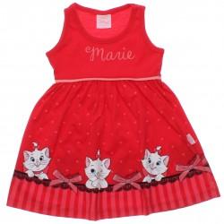 Vestido Marie Infantil Estampa Laço e Corações 30672