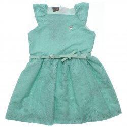 Vestido Mundi Infantil Lesie Cinto e Pingente 31532