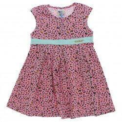 Vestido Pulla Bulla Infantil Estampa Onça 28908