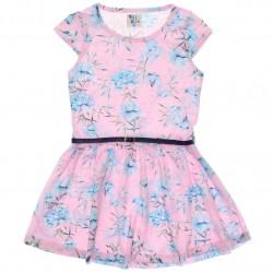 Vestido Pulla Bulla Infantil Floral Cinto 30125