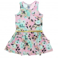 Vestido Pulla Bulla Infantil Menina Estampa Flores 29194
