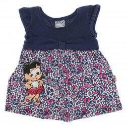 Vestido Turma Chico Bento Beb� Rosinha Baby - 25542