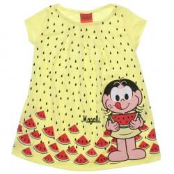 Vestido Turma da Mônica Infantil Melancia Magali 30688