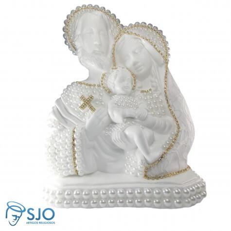 Sagrada Família em Pérola - 25 cm