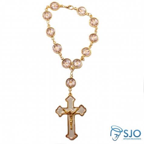 Dezena de Mão Italiana Imaculado Coração de Maria