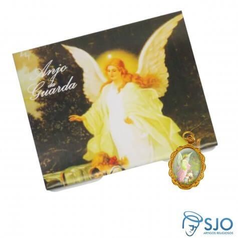 100 Cartões com Medalha do Anjo da Guarda