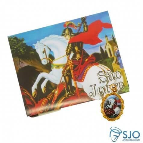 100 Cartões com Medalha de São Jorge