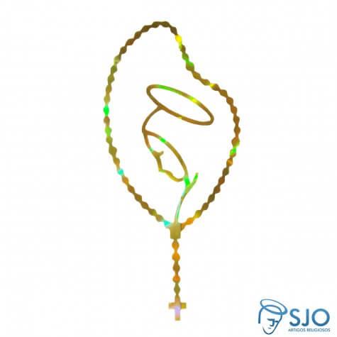 Adesivo da Virgem Maria - Pequeno