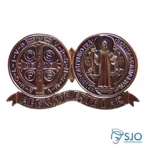 Medalhão de São Bento Adesivo