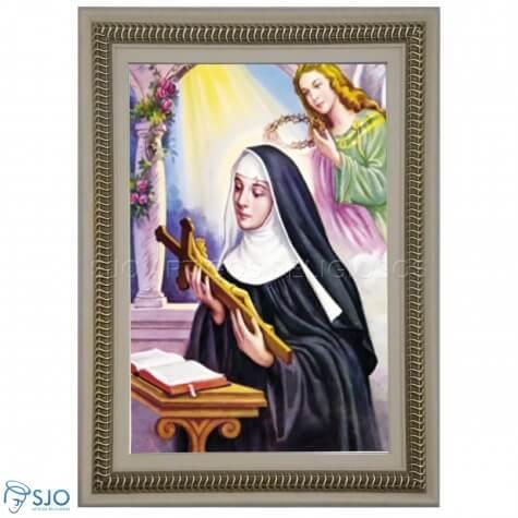 Quadro Religioso Santa Rita de C�ssia