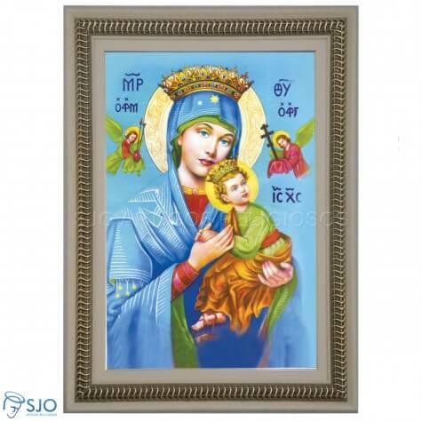 Quadro Religioso Nossa Senhora Perp�tuo Socorro