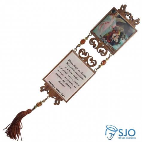 Adorno Quadrado Anjo da Guarda - Mod. 02