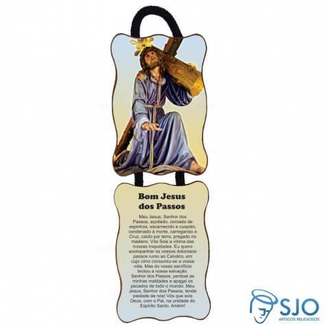 Adorno de Porta Retangular - Bom Jesus dos Passos