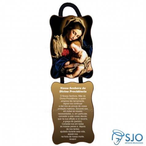 Adorno de Porta Retangular - Nossa Senhora da Divina Providência