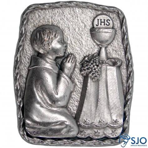 Porta Retrato de Mesa Eucaristia Menino