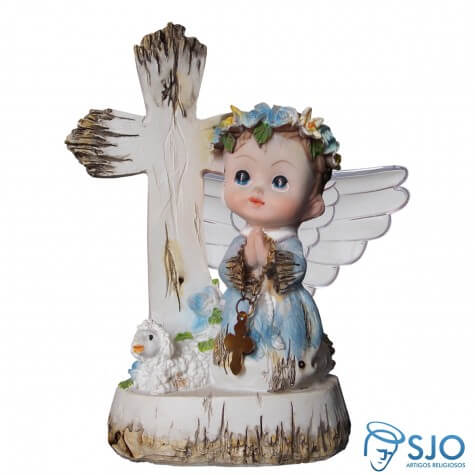 Anjo da Guarda Azul - 7,5 cm