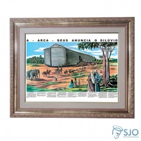 Quadro - Arca de Noé - 52 cm x 42 cm