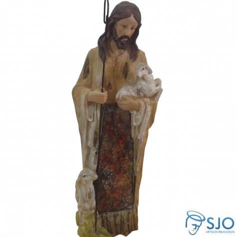 Imagem de resina Bom Pastor - 30 cm