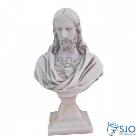 Imagem de M�rmore Busto Sagrado Cora��o de Jesus