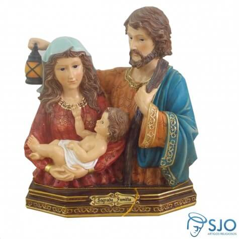 Busto Sagrado da Sagrada Família - 24 cm