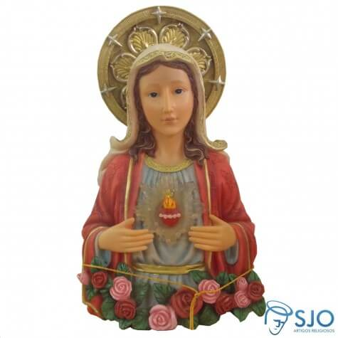 Busto Sagrado Coração de Maria - 25 cm