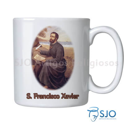 Caneca São Francisco Xavier com Oração