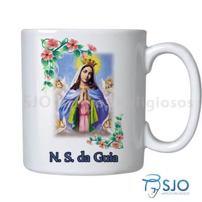 Caneca Nossa Senhora da Guia com Ora��o
