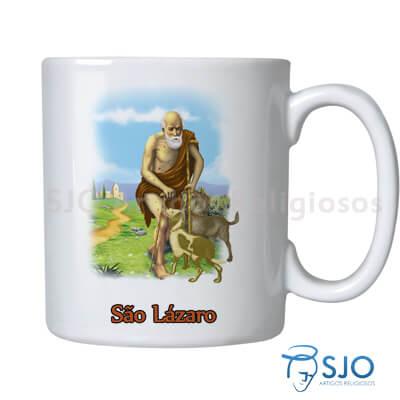 Caneca São Lázaro com Oração
