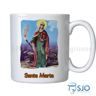 Caneca Santa Marta com Oração