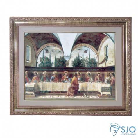 Quadro - Santa Ceia - Modelo 2 - 52 cm x 42 cm