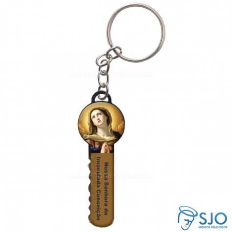 Chaveiro Chave Nossa Senhora da Imaculada Concei��o - Modelo 2