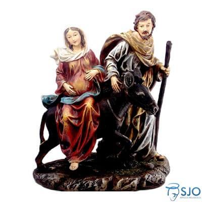 Imagem de Resina Nossa Senhora do Desterro Grávida - 35 cm